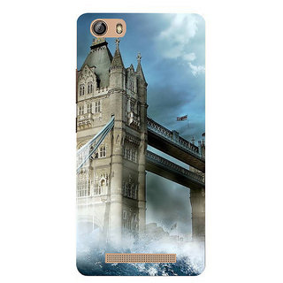 IFasho Designer Back Case Cover For Gionee Marathon M5 Lite (Monument Xian China Pollachi)