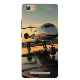 IFasho Designer Back Case Cover For Gionee Marathon M5 Lite (Paper Plane Design Plane Engine Plane Bangles For Women)