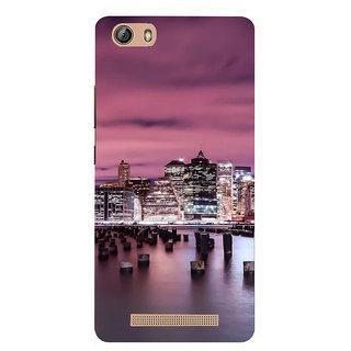 IFasho Designer Back Case Cover For Gionee Marathon M5 Lite (Cities Madrid Spain Srinagar)