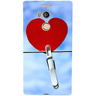 IFasho Designer Back Case Cover For Gionee Elife E8 (Love Heart Tokyo Japan Surat)