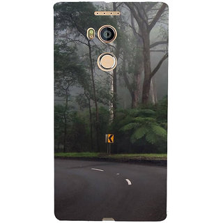 IFasho Designer Back Case Cover For Gionee Elife E8 (Road Scenary New York (Ny) Usa Lucknow)