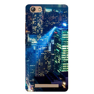 IFasho Designer Back Case Cover For Gionee Marathon M5 Lite (Cities Bogor Indonesia Bhilwara)