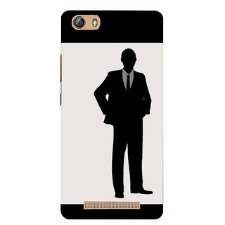 IFasho Designer Back Case Cover For Gionee Marathon M5 Lite (A Man'S Search For Meaning Man Belt Man All)