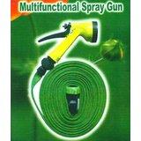 NEW MULTIFUNCTION SPRAY GUN WITH 20M Water HOSE BIKE WASH Garden HOSE Car Wash
