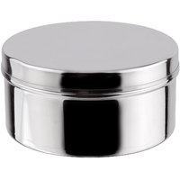 Grish Stainless Steel Plain Cover Dabba Set Of 3