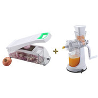 Onion And Vegetable Chopper, Cutter And Fruit Juicer Combo Offer