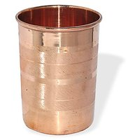 Copper Glass For Ayurvedic Health Benefits , Set Of 2 Glass