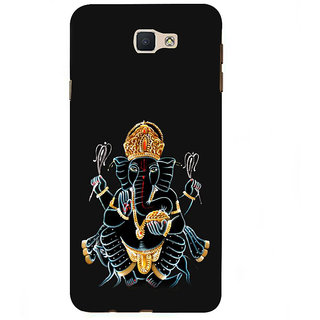 Ifasho Designer Back Case Cover For  Galaxy On7 Pro ::  Galaxy On 7 Pro (2015) (Ganesh Bogota Spiritual Shiva Back Cover For N7100 Nandurbar)
