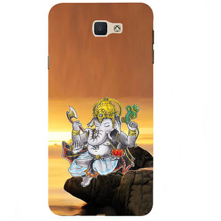 Ifasho Designer Back Case Cover For Samsung Galaxy On7 Pro :: Samsung Galaxy On 7 Pro (2015) (Ganesh Sydney Spiritual Wall Decals Bhadrak)