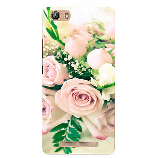 IFasho Designer Back Case Cover For Gionee Marathon M5 Lite (Cannonball Tree'S Flower Rose Water Rose Oil For Face Progress Develop Mellow Grow)