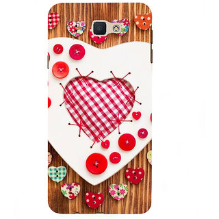 Ifasho Designer Back Case Cover For Samsung Galaxy On7 G600Fy :: Samsung Galaxy Wide G600S :: Samsung Galaxy On 7 (2015) (Love Love Chains For Couples Love In The Times Of Jihaad Love More Kurtas)