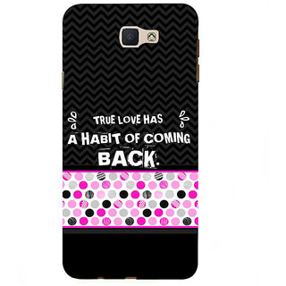 Ifasho Designer Back Case Cover For Samsung Galaxy On7 Pro :: Samsung Galaxy On 7 Pro (2015) (Coming Back Pure Love Ideal)