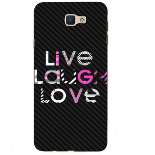 Ifasho Designer Back Case Cover For Samsung Galaxy On7 G600Fy :: Samsung Galaxy Wide G600S :: Samsung Galaxy On 7 (2015) (Alive Consious Smile Pyar)