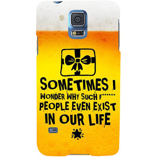 Ifasho Designer Back Case Cover For Samsung Galaxy S5 Neo :: Samsung Galaxy S5 Neo G903F :: Samsung Galaxy S5 Neo G903W (Hookup  The Education Of)