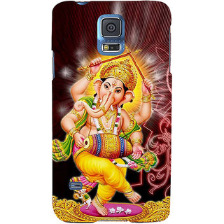 Ifasho Designer Back Case Cover For Samsung Galaxy S5 Neo :: Samsung Galaxy S5 Neo G903F :: Samsung Galaxy S5 Neo G903W (Vinayak Vastu Siddhi Vinayak)