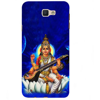 Ifasho Designer Back Case Cover For Samsung Galaxy On7 Pro :: Samsung Galaxy On 7 Pro (2015) (Rss Goddess Of Knowledge Beena Swan)
