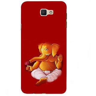 Ifasho Designer Back Case Cover For Samsung Galaxy On7 Pro :: Samsung Galaxy On 7 Pro (2015) (Ganesh Madras 7 Spiritual Laws Of Success Deepak Chopra Wardha)
