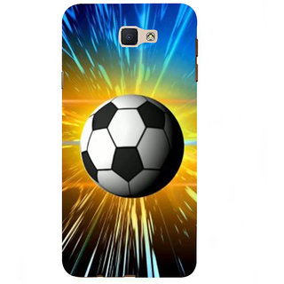 Ifasho Designer Back Case Cover For Samsung Galaxy On7 G600Fy :: Samsung Galaxy Wide G600S :: Samsung Galaxy On 7 (2015) (Football Malang Indonesia Buxar)