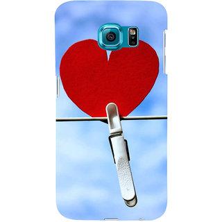 Ifasho Designer Back Case Cover For Samsung Galaxy S6 Edge :: Samsung Galaxy S6 Edge G925 :: Samsung Galaxy S6 Edge G925I G9250  G925A G925F G925Fq G925K G925L  G925S G925T (Love Heart Tokyo Japan Surat)