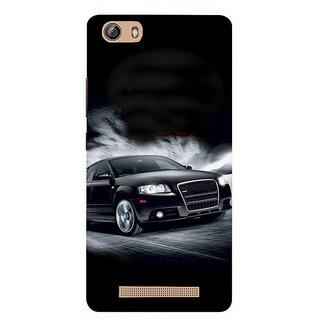 IFasho Designer Back Case Cover For Gionee Marathon M5 Lite (Travel Tickets Small Business)