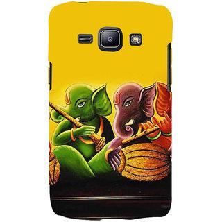 Ifasho Designer Back Case Cover For Samsung Galaxy J2 J200G (2015) :: Samsung Galaxy J2 Duos (2015) :: Samsung Galaxy J2 J200F J200Y J200H J200Gu  (Music Ganesha Turi Sahnai Avaneesh)