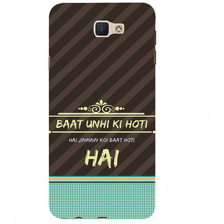 Ifasho Designer Back Case Cover For Samsung Galaxy On7 Pro :: Samsung Galaxy On 7 Pro (2015) (Visualize Kuchh Baat Hai )