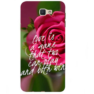 Ifasho Designer Back Case Cover For Samsung Galaxy On7 G600Fy :: Samsung Galaxy Wide G600S :: Samsung Galaxy On 7 (2015) (Two Players Meaningful Dost)