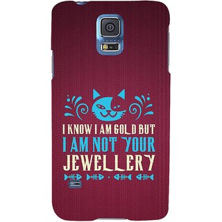 Ifasho Designer Back Case Cover For Samsung Galaxy S5 Neo :: Samsung Galaxy S5 Neo G903F :: Samsung Galaxy S5 Neo G903W (Pertinence  Education City)