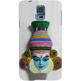 Ifasho Designer Back Case Cover For Samsung Galaxy S5 Neo :: Samsung Galaxy S5 Neo G903F :: Samsung Galaxy S5 Neo G903W (Mask Taegu South Korea Dibrugarh)