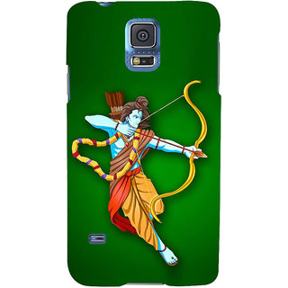 Ifasho Designer Back Case Cover For Samsung Galaxy S5 Neo :: Samsung Galaxy S5 Neo G903F :: Samsung Galaxy S5 Neo G903W (Ram Ramayana Ramayan Dvd By Ramanand Sagar Rama Water Filter)