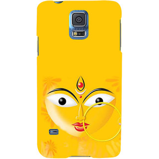 Ifasho Designer Back Case Cover For Samsung Galaxy S5 Neo :: Samsung Galaxy S5 Neo G903F :: Samsung Galaxy S5 Neo G903W (Durga 7 Spiritual Laws Of Success Indonesia West Bengal)
