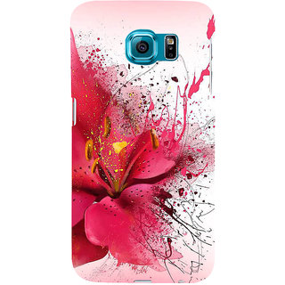 Ifasho Designer Back Case Cover For Samsung Galaxy S6 Edge :: Samsung Galaxy S6 Edge G925 :: Samsung Galaxy S6 Edge G925I G9250  G925A G925F G925Fq G925K G925L  G925S G925T (Inkfree Dating Inkdrawing Book Ink Pad Ink Colours Set Ink For Kids)