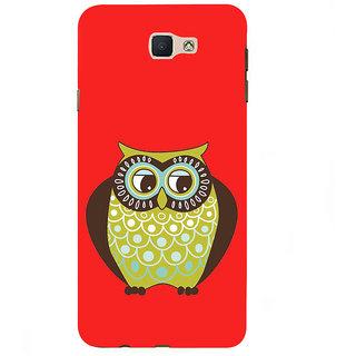 Ifasho Designer Back Case Cover For Samsung Galaxy On7 G600Fy :: Samsung Galaxy Wide G600S :: Samsung Galaxy On 7 (2015) (Animation Night Bird Carnival Animal)