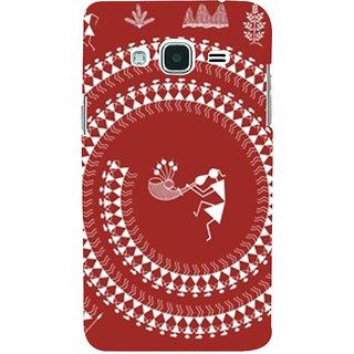 Ifasho Designer Back Case Cover For Samsung Galaxy J1 (6) 2016 :: Samsung Galaxy J1 2016 Duos :: Samsung Galaxy J1 2016 J120F :: Samsung Galaxy Express 3 J120A :: Samsung Galaxy J1 2016 J120H J120M J120M J120T (Tribal Madrid Spain Shillong)