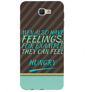Ifasho Designer Back Case Cover For Samsung Galaxy On7 Pro :: Samsung Galaxy On 7 Pro (2015) (Hungry Funny Quotes Sensitivity)