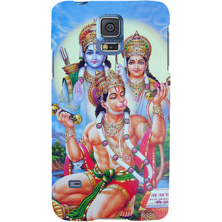 Ifasho Designer Back Case Cover For Samsung Galaxy S5 Neo :: Samsung Galaxy S5 Neo G903F :: Samsung Galaxy S5 Neo G903W (Hanuman Hanuman Ring Hanuman Pendant Hanuman Nazar Suraksha Kawach)