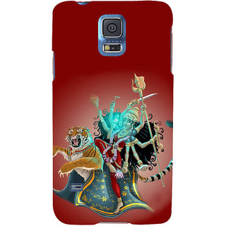 Ifasho Designer Back Case Cover For Samsung Galaxy S5 Neo :: Samsung Galaxy S5 Neo G903F :: Samsung Galaxy S5 Neo G903W (Durga 7 Spiritual Laws Of Success Deepak Chopra China Kolkata)