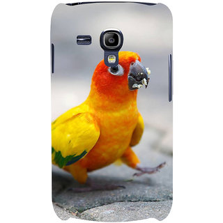 Ifasho Designer Back Case Cover For Samsung Galaxy S3 Mini I8190 :: Samsung I8190 Galaxy S Iii Mini :: Samsung I8190N Galaxy S Iii Mini  (Vegetables Fruits Grasses Parrot Cup Small Parots)