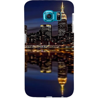 Ifasho Designer Back Case Cover For Samsung Galaxy S6 Edge :: Samsung Galaxy S6 Edge G925 :: Samsung Galaxy S6 Edge G925I G9250  G925A G925F G925Fq G925K G925L  G925S G925T (Cities Surabaya Indonesia Dhanbad)