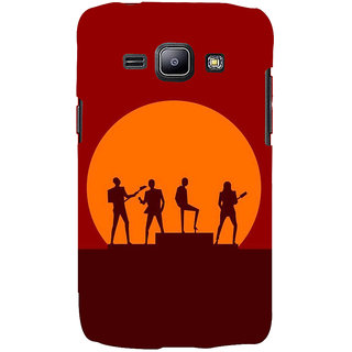 Ifasho Designer Back Case Cover For  Galaxy J2 J200G (2015) ::  Galaxy J2 Duos (2015) ::  Galaxy J2 J200F J200Y J200H J200Gu  (Band Calcutta India Music 3D)