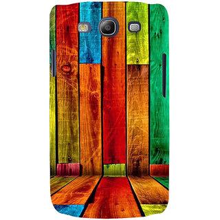 Ifasho Designer Back Case Cover For Samsung Galaxy S3 Neo I9300I :: Samsung I9300I Galaxy S3 Neo :: Samsung Galaxy S Iii Neo+ I9300I :: Samsung Galaxy S3 Neo Plus (Dogs Fox News Wood Vinyl)