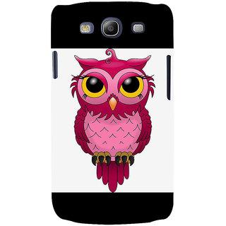 Ifasho Designer Back Case Cover For Samsung Galaxy S3 I9300 :: Samsung I9305 Galaxy S Iii :: Samsung Galaxy S Iii Lte (Broad Head Binocular Vision Binaural Hearing)