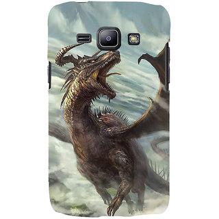 Ifasho Designer Back Case Cover For Samsung Galaxy J2 J200G (2015) :: Samsung Galaxy J2 Duos (2015) :: Samsung Galaxy J2 J200F J200Y J200H J200Gu  (Dragon Jinan China Bhiwani)
