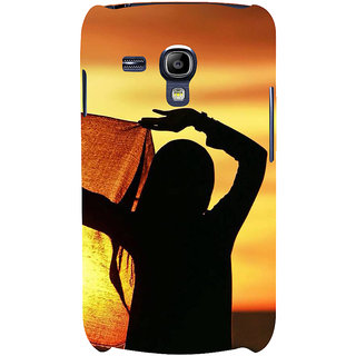 Ifasho Designer Back Case Cover For Samsung Galaxy S3 Mini I8190 :: Samsung I8190 Galaxy S Iii Mini :: Samsung I8190N Galaxy S Iii Mini  (Girl Budapest Hungary Girl Virgin)