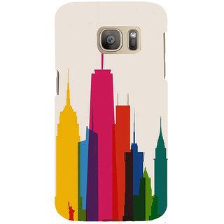 Ifasho Designer Back Case Cover For Samsung Galaxy S7 Edge :: Samsung Galaxy S7 Edge Duos :: Samsung Galaxy S7 Edge G935F G935 G935Fd  (Cities Taegu South Korea Hubli-Dharwad)