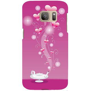 Ifasho Designer Back Case Cover For Samsung Galaxy S7 Edge :: Samsung Galaxy S7 Edge Duos :: Samsung Galaxy S7 Edge G935F G935 G935Fd  (Artist  Pilot For The Marines  )