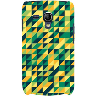 Ifasho Designer Back Case Cover For Samsung Galaxy S3 Mini I8190 :: Samsung I8190 Galaxy S Iii Mini :: Samsung I8190N Galaxy S Iii Mini  (Multicolor Triangle Many Color Square Colourful Square )