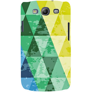 Ifasho Designer Back Case Cover For Samsung Galaxy S3 I9300 :: Samsung I9305 Galaxy S Iii :: Samsung Galaxy S Iii Lte (Army Background Square Lines Hexagonal)