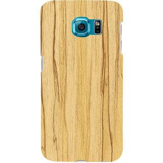 Ifasho Designer Back Case Cover For Samsung Galaxy S6 Edge :: Samsung Galaxy S6 Edge G925 :: Samsung Galaxy S6 Edge G925I G9250  G925A G925F G925Fq G925K G925L  G925S G925T (Altavista Cnet Wood Shoes)