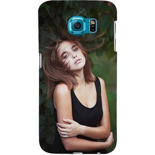 Ifasho Designer Back Case Cover For Samsung Galaxy S6 Edge :: Samsung Galaxy S6 Edge G925 :: Samsung Galaxy S6 Edge G925I G9250  G925A G925F G925Fq G925K G925L  G925S G925T (Girl Ankara Turkey Girl Zipper)
